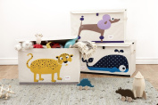 3 Sprouts Toy Chest, Leopard