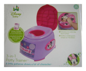 Disney 3-in-1 Potty Trainer- Minnie Mouse