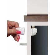 White Mag Locks Adhesive Magnetic Locks