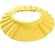 Children Waterproof Bath cap Shower hat Adjustable Yellow