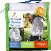 Car Seat & Stroller Netting - Protect Baby From Insects, 1 pc,