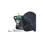 Sip & Stroll Stroller Cup Holder - Black