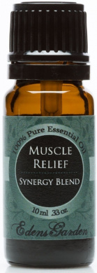 Muscle Relief Synergy Blend Essential Oil- 10 ml (Comparable to DoTerra's Deep Blue & Young Living's PanAway Blend)