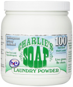 Charlie's Soap - Fragrance Free Laundry Powder - 100 Loads