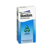 Boston Rewetting Drops for Rigid Gas Permeable Contact Lenses - 10ml, 2 Pack
