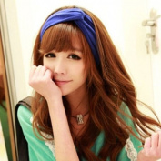 Women Turban Twist Headband Head Wrap Twisted Knotted Knot Soft Hair Band WHS484