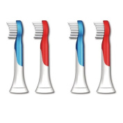 Replacement Brush Heads for Philips Sonicare Hx6032 Sonicare for Kids Brush Heads, Ages 4-7, 4-pack