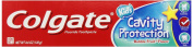 Colgate Cavity Protection Fluoritde Toothpaste, Bubble Fruit, 140ml