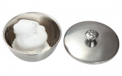 All Metal Shaving Soap Bowls