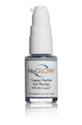 Finest Copper Peptide Eye Therapy + Antioxidants & MD3 Copper Is Formulated To Deliver An Extra Boost Of Health Essential Copper To The Skin Around Your Eyes. Perfect For Erasing Crows Feet. NuGlow®
