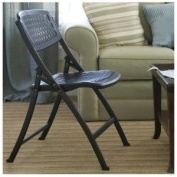 Flex One Event Folding Chair From Mity Lite with Breathable Seat and Back - No More Sweating From Sitting on Chair