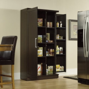 Large Double Door Storage Cabinet - Dakota Oak Finish
