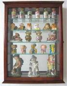 Wall Curio Cabinet / Wall Shadow Box Display Case for Figurines, CD06-WA