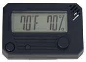 Quality Importers HygroSet, Rectangle Digital Hygrometer for Humidors