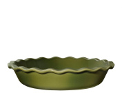 Emile Henry 23cm Pie Dish, Olive