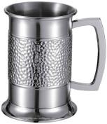 "Visol ""Golfspieler"" Stainless Steel Beer Mug, 530ml, Chrome"