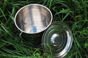 Stainless Steel Milk Bucket with Lid 6.6l Dairy Pail