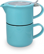 FORLIFE Tea for One with Infuser 410mls, Turquoise