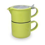 FORLIFE Tea for One with Infuser 410mls, Lime