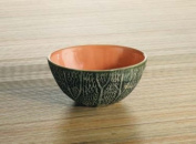 Cantaloupe Breakfast Bowl Collectible Fruit Ceramic Glass Platter