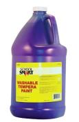 School Smart Washable Tempera Paint - Gallon - Purple