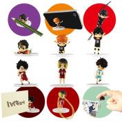 Takara Tomy Haikyuu!! Desktop Figure Set of 6