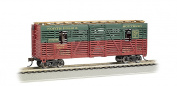 Bachmann 12m Animated Stock Car - CHRISTMAS with REINDEER - HO Scale