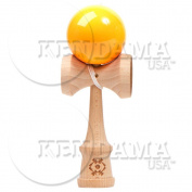 Kendama USA Tribute - Wooden Skill Toy- Neon Orange [Toy]