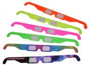 Fireworks Diffraction Glasses - 60 Pair - Neon / Rainbow / Purple Hayz Designs