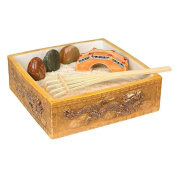 Eve's Mini Zen Garden Kit Dragon, Everything Needed to Create Your Own Miniature Zen Garden, Relieve Stress and Relax!