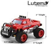 Lutema Blaze Truck 4CH Remote Control Truck - Red