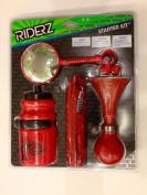 Bell Riderz Starter Kit, Red