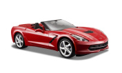 Maisto 2014 Corvette Stingray Convertible Die Cast Vehicle (1:24 Scale), Colours May Vary