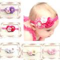 Atdoshop(TM) 5PC Baby Girls Elastic Headband Rose Flower Photography Headbands