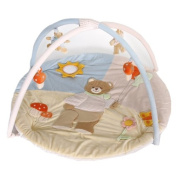 Legler 4492 Activity baby play blanket with cushioned arcs and accessories