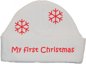 My First Christmas Baby Beanie Hat/Cap 0 to 12 Months