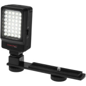 Precision Design Digital Camera / Camcorder LED Video Light with Bracket