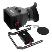 Albinar VF-7 Universal Fit Foldable LCD Viewfinder with 3.0X Magnification for 7.6cm & 8.1cm HD DSLR Screens