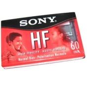 Sony C-60 Standard Cassette Tape C60HFR