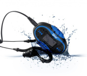 Diver (TM) Waterproof MP3 Player with LCD Display. 4 GB. Kit Includes Waterproof Earphones. NEW.