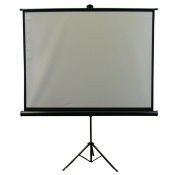 New 210cm Portable Projector Screen 4:3 Projection Pull Up Foldable Stand Tripod