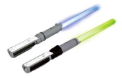 Official Star Wars Wii Anakin & Yoda Light-Up Replica Lightsabers - Duelling Pack