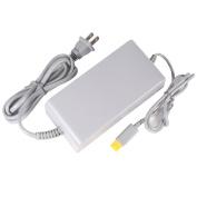 Fosmon Power Supply 100-240V AC Adapter for Nintendo Wii U Console