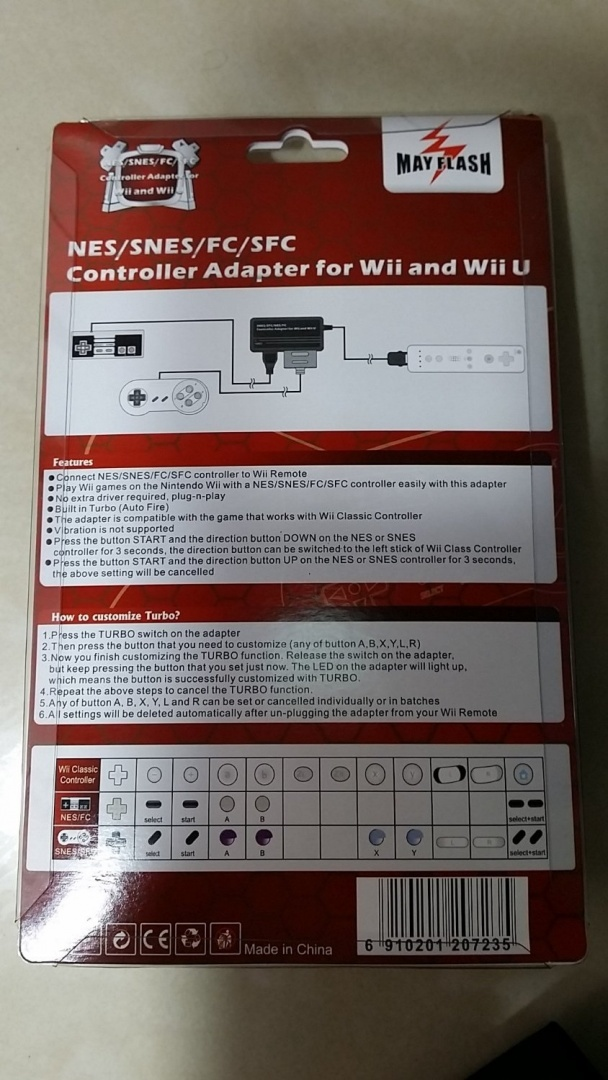NES / SNES to Wii Adapter by Mayflash - Shop Online for