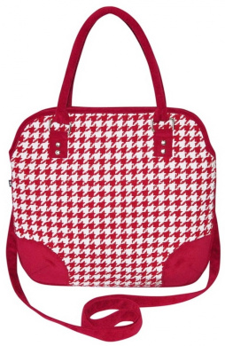 Grace Dogtooth Handbag by Earth Squared
