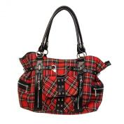 Banned Women's Shoulder Bag Red RED Einheitsgröße
