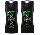 (2 PACKS) Lynx AFRICA Shower Gel XL (2 x 400ml) Extra Large