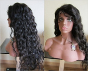 """Iremy hair products Natural Colour Curly Indian Human Hair Front Lace Wig Glueless Wigs For Black Women, Lace Front Wig """"8""""-24"""" In Stock"""
