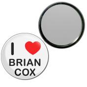I Love Brian Cox - 77mm Round Compact Mirror