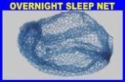 Roller Sleep In Hair Net x 1 Blue